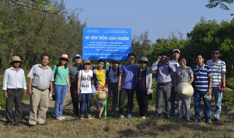 Ảnh 14: Vườn nghiên cứu cây thuốc tại tỉnh Phú Yên