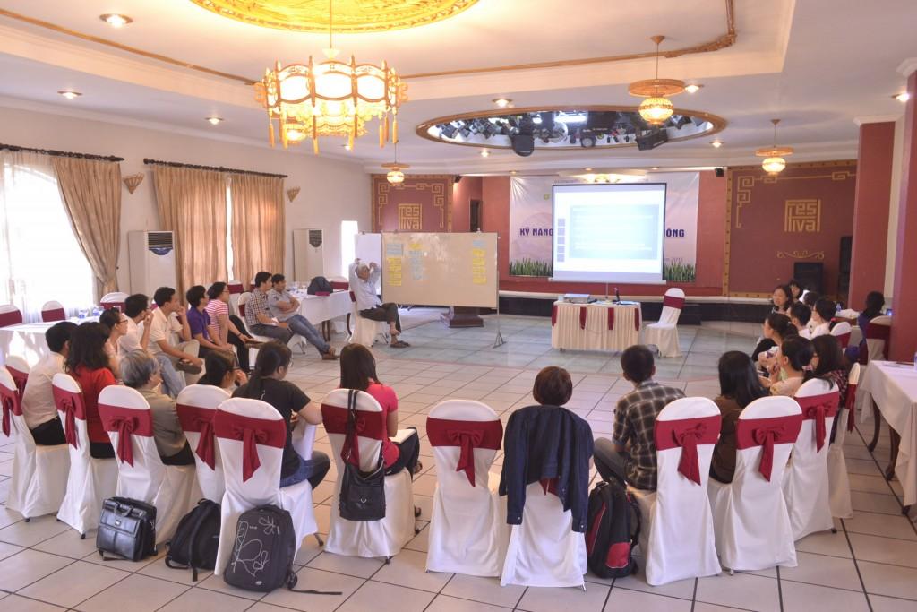 Các học viên đến từ Quảng Trị, Huế, Đà Nẵng, Bình Định