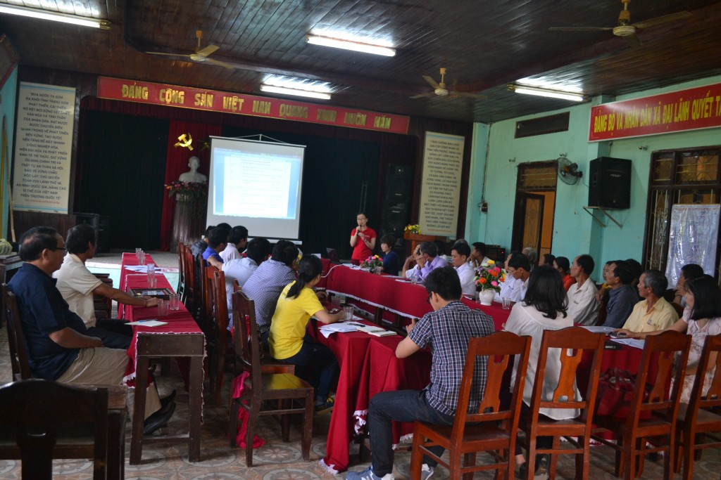 Learning, sharing at Dai Lanh commune