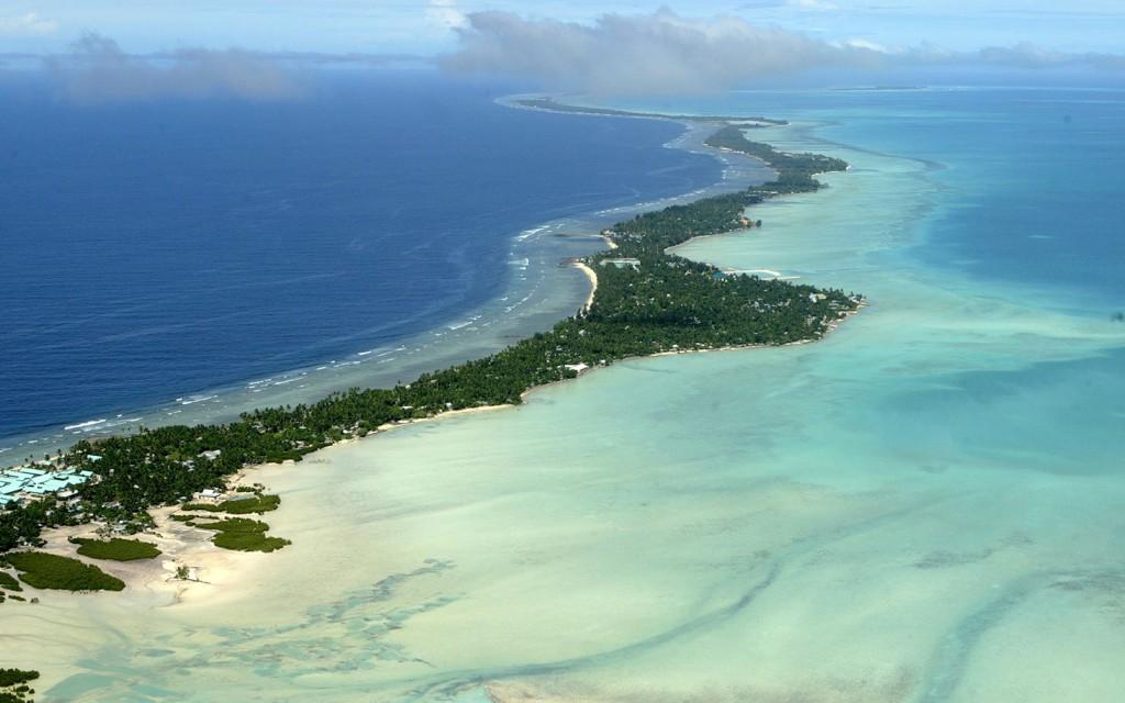 Quốc đảo Kiribati sẽ sớm bị ngập vì biến đổi khí hậu